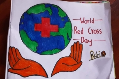 Red Cross Day Paintings
