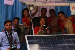 Science Students During Exhibition at LFS